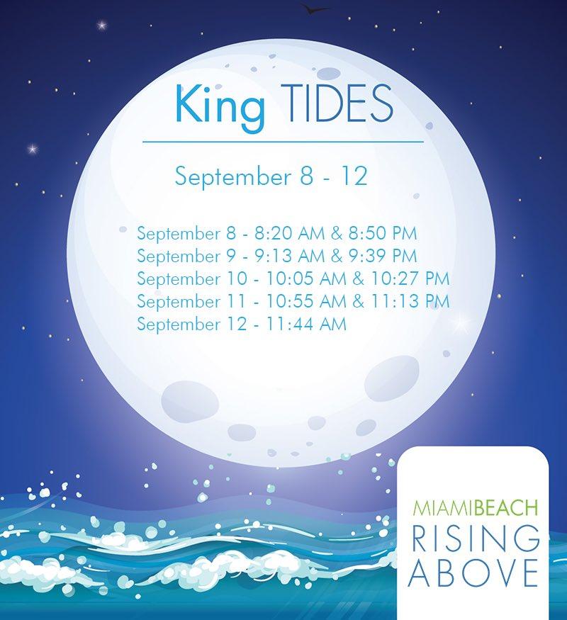LIVE: King Tides Schedule